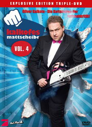 Kalkofes Mattscheibe Vol. 4 (Special Limited Edition, 3 DVDs, Metalpack) DVD Bild