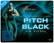 Pitch Black - Planet der Finsternis (Limited Edition, Quer-Steelbook) Blu-ray Bild