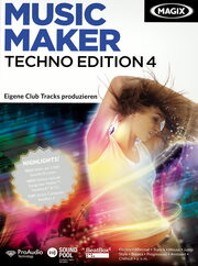 Magix Music Maker Techno Edition 4 PC Bild