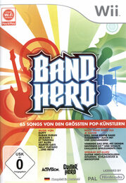 Band Hero Nintendo WII Bild