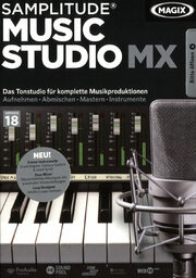 Magix Samplitude Music Studio MX PC Bild