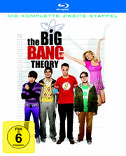 The Big Bang Theory - Die komplette zweite Staffel (2 Discs) Blu-ray Bild