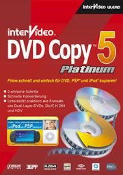 InterVideo DVD Copy 5 Platinum, Corel Ulead DVD Copy 5 Platinum.