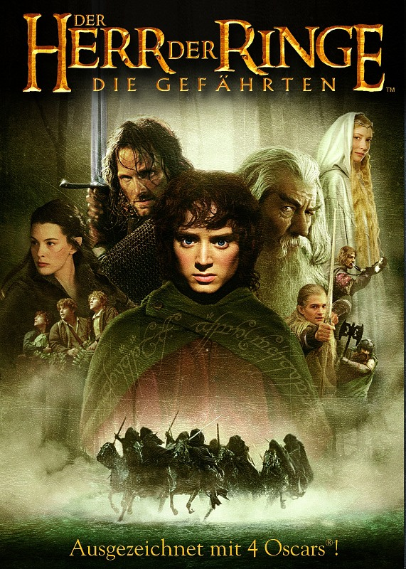 Der Herr der Ringe - Die Gefährten  [2 DVDs] DVD Bild