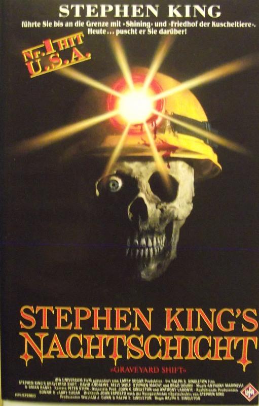 Stephen Kings Nachtschicht VHS-Video Bild