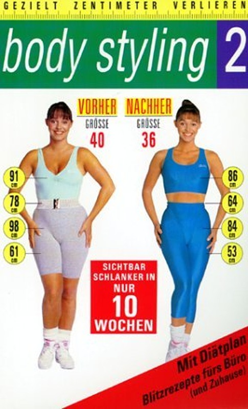Body Styling 2 VHS-Video Bild