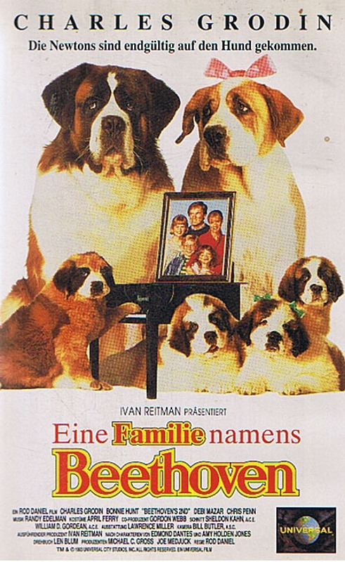 Eine Familie namens Beethoven VHS-Video Bild