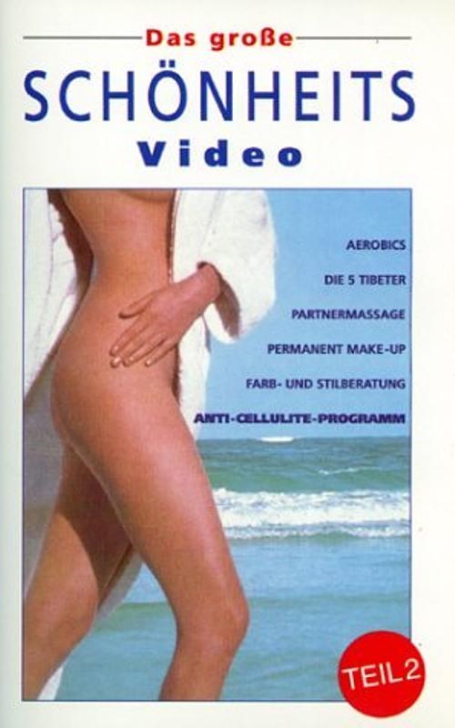 Das große Schönheitsvideo, Teil 2 VHS-Video Bild