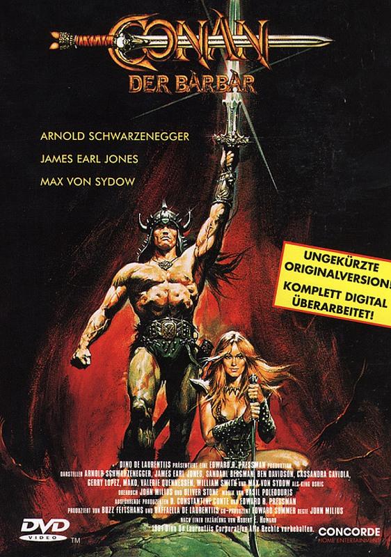 Conan 1 - Der Barbar DVD Bild