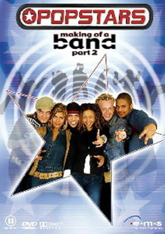 Popstars - The Making of a Band DVD Bild