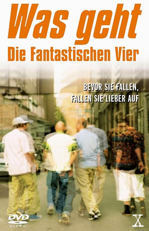 Die Fantastischen Vier - Was geht DVD Bild