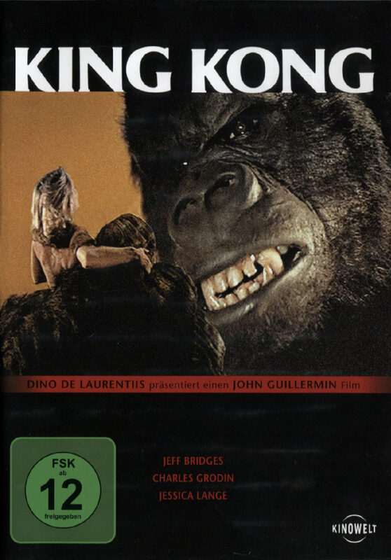King Kong DVD Bild