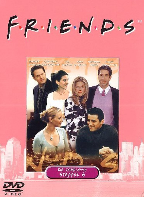 Friends - Box Set / Staffel 6  [4 DVDs] DVD Bild