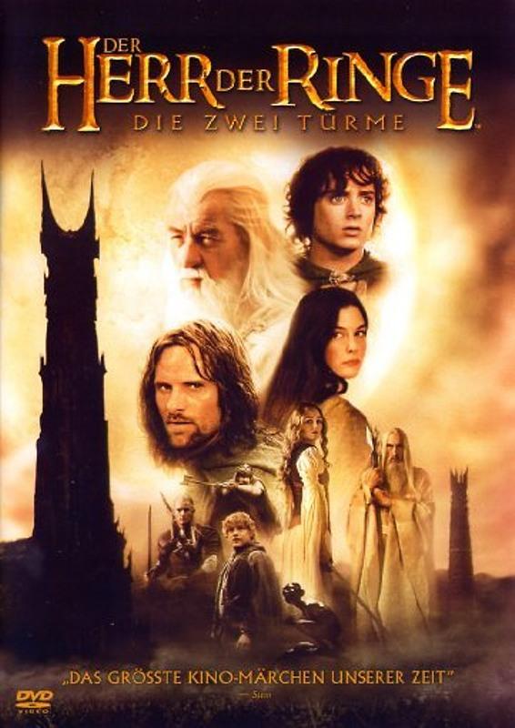 Der Herr der Ringe - Die zwei Türme  [2 DVDs] DVD Bild
