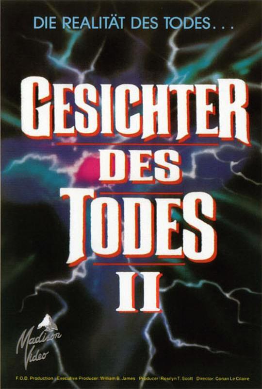 Gesichter des Todes 2 VHS-Video Bild