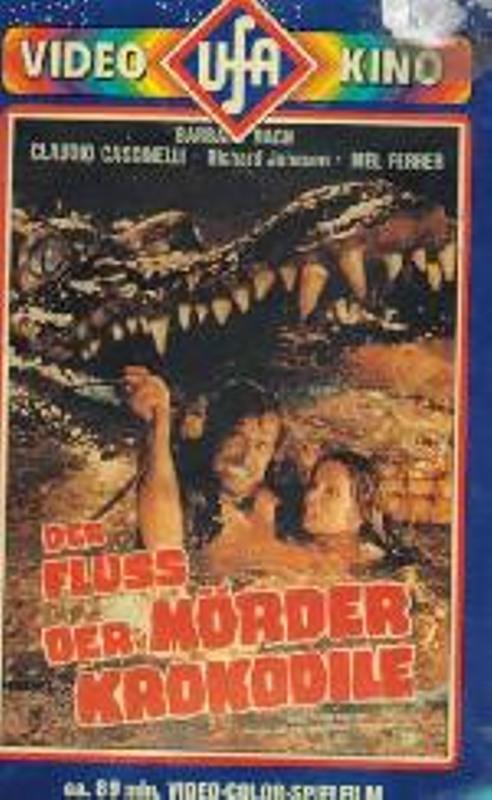 Der Fluss der Mörderkrokodile VHS-Video Bild