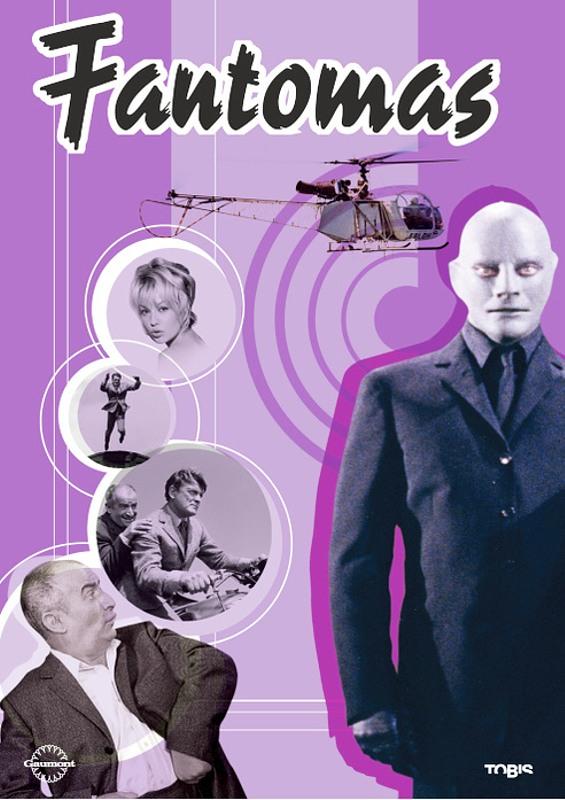 Fantomas DVD Bild