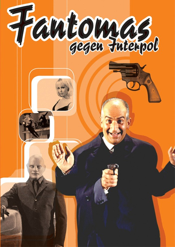 Fantomas gegen Interpol DVD Bild