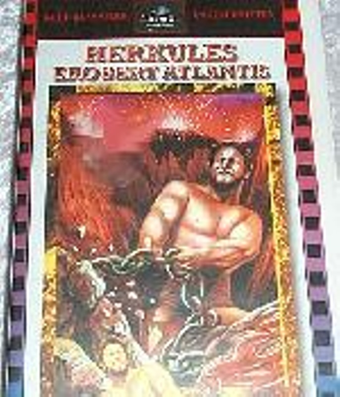 Herkules erobert Atlantis VHS-Video Bild