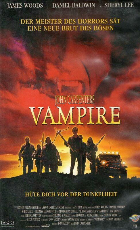 John Carpenters Vampire VHS-Video Bild