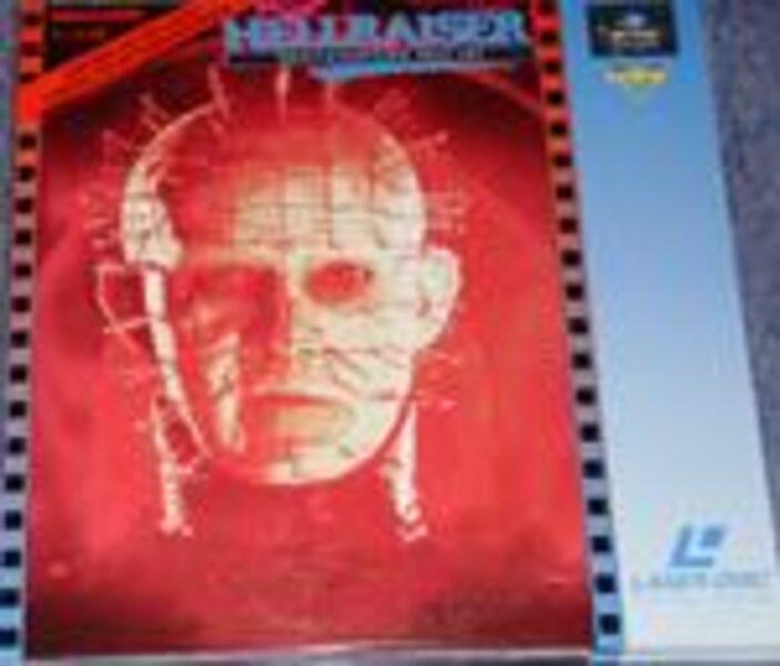 Hellraiser 3 - Laserdisc Laserdisk Bild