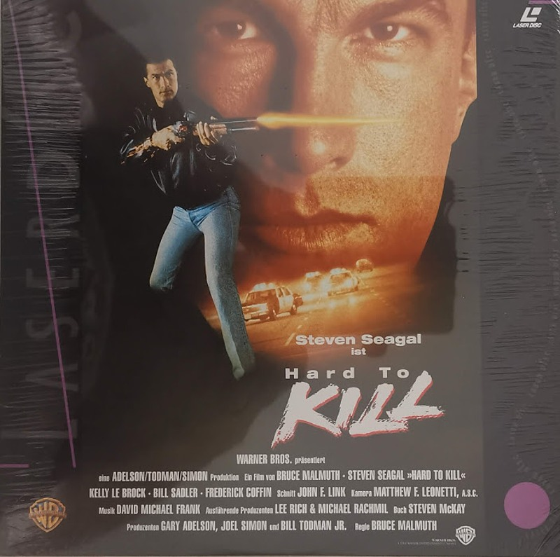 Hard to kill - Laserdisc Laserdisk Bild
