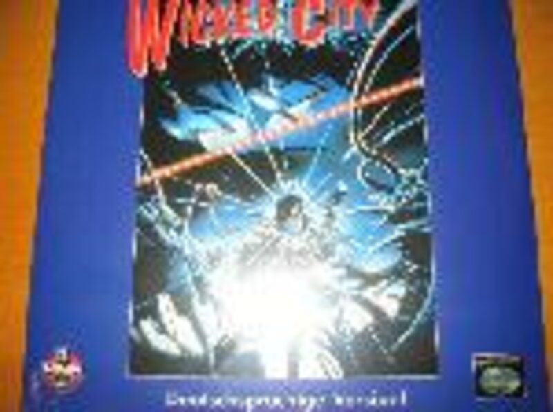 Wicked City - Laserdisc Laserdisk Bild