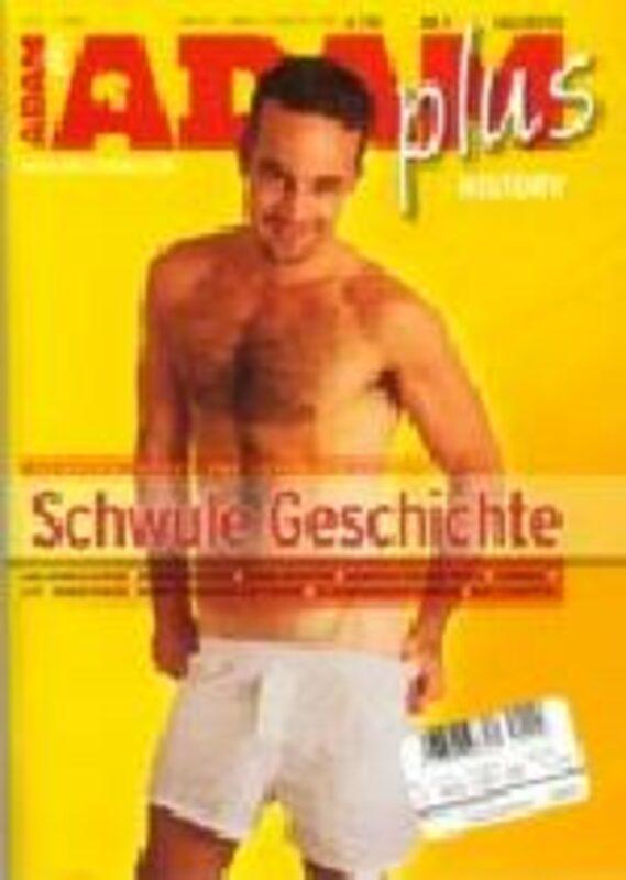 Adam Plus History September 2003 Gay Buch / Magazin Bild