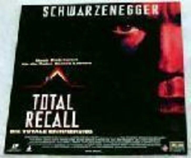 Total Recall - Die totale Erinnerung - Laserdisc DVD Bild