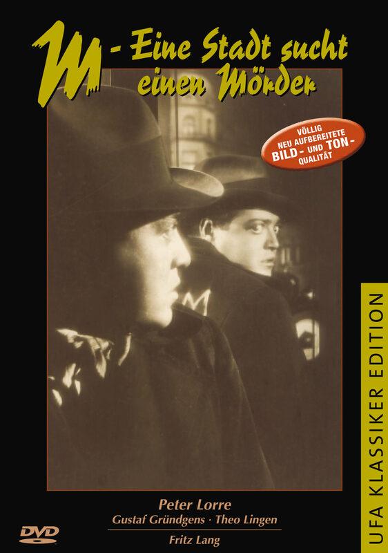 M - Eine Stadt sucht einen Mörder DVD Bild