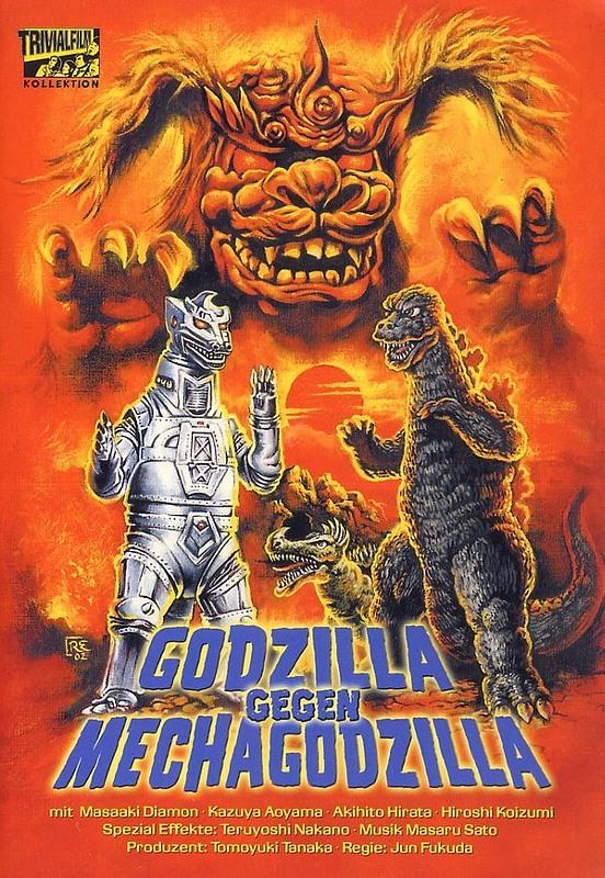 Godzilla gegen Mechagodzilla DVD Bild