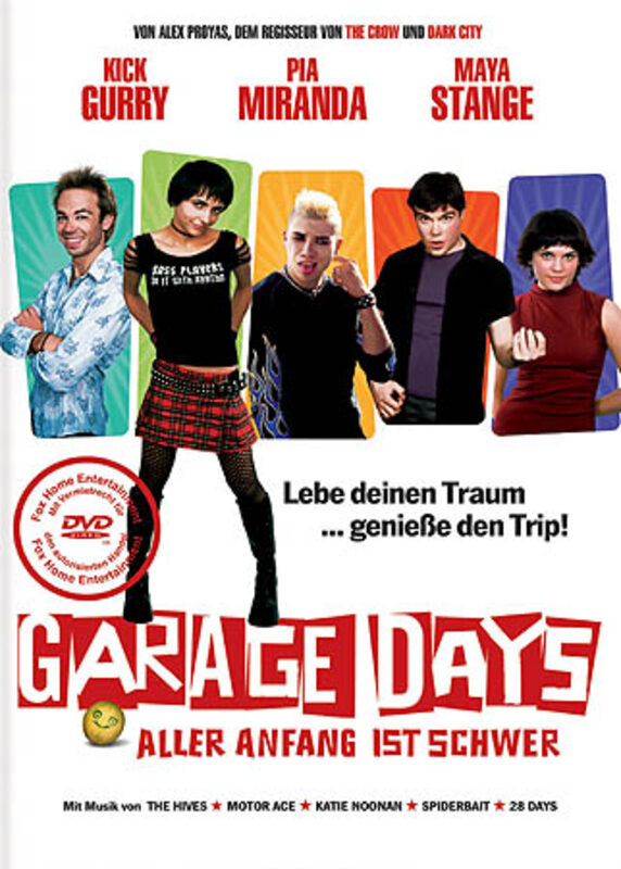 Garage Days DVD Bild