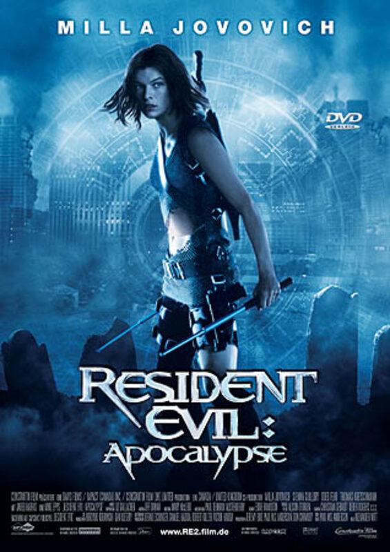 Resident Evil 2: Apocalypse DVD Bild