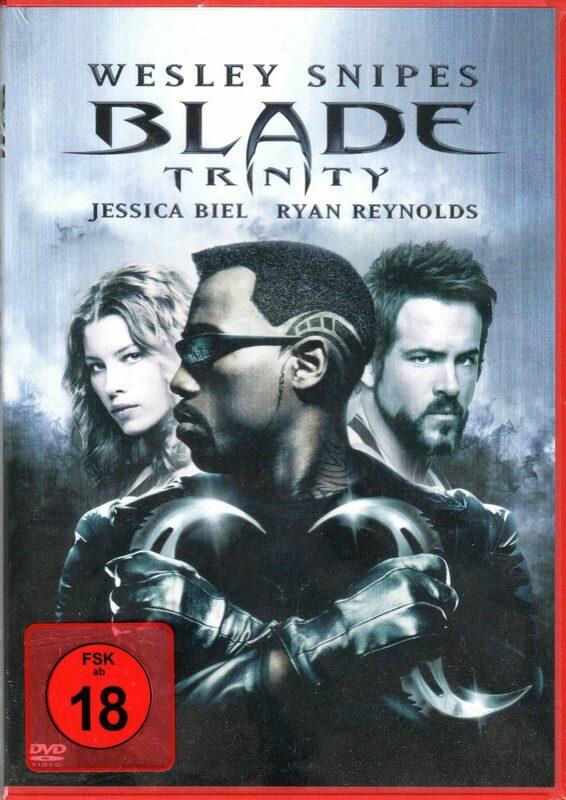 Blade 3: Trinity DVD Bild