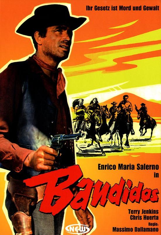Bandidos - Ihr Gesetz ist Mord und Gewalt DVD Bild