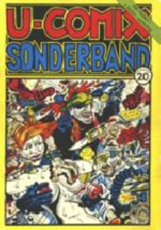U-Comix Sonderband Nr.20 (S. Clay Wilson) Comic Bild