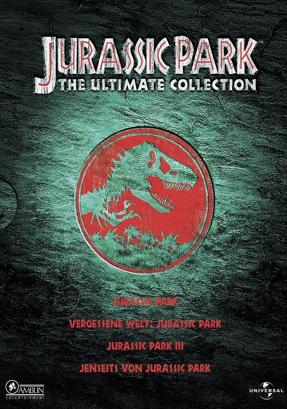 Jurassic Park 1-3 - Ultimate Collection [4 DVDs] DVD Bild
