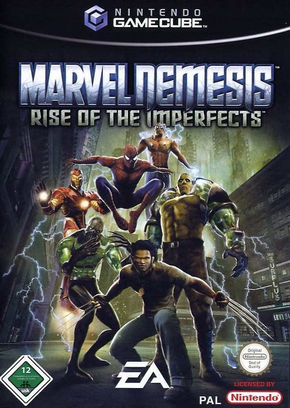 Marvel Nemesis - Rise of the Imperfects GameCube Bild