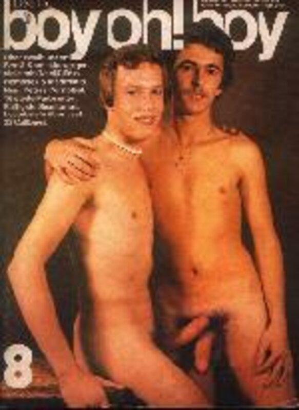 boy oh! boy No. 8 Gay Buch / Magazin Bild