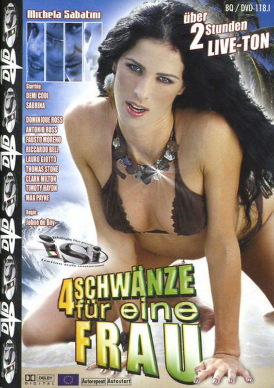 4 Schwänze für eine Frau DVD Bild