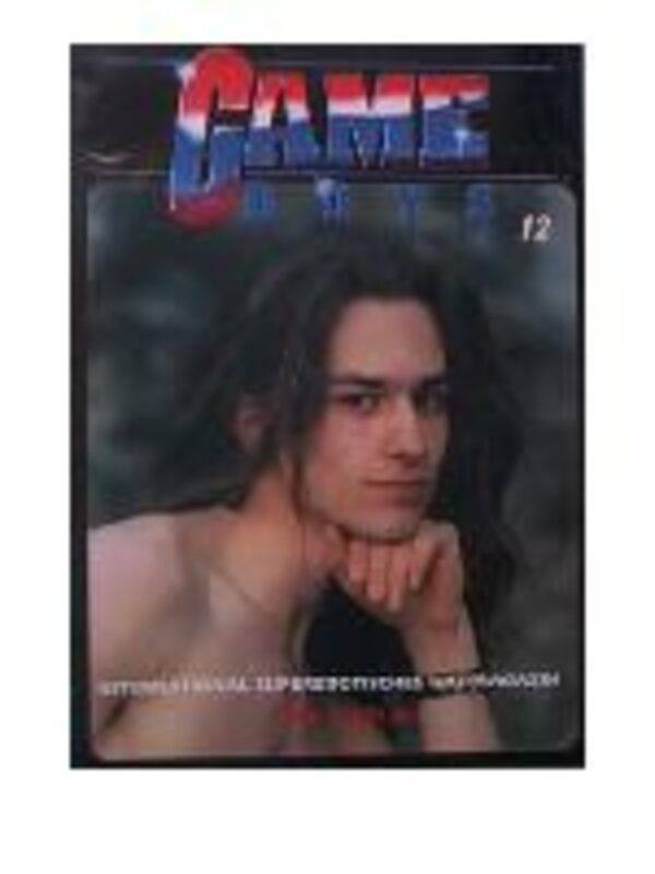 Game Boys 12 Gay Buch / Magazin Bild