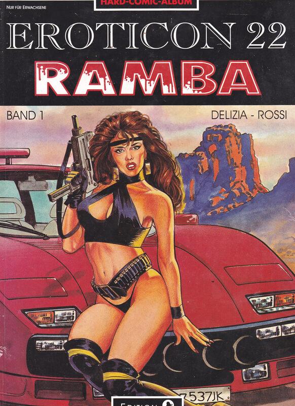 Eroticon 22 - Ramba Comic Bild