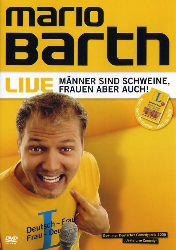 Mario Barth - Männer sind Schweine, Frauen ... DVD Bild