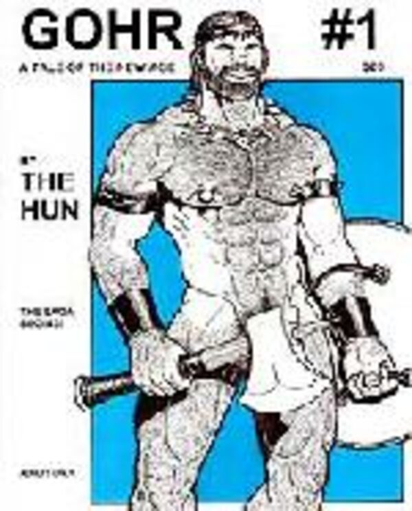 Gohr - the Hun #1 Gay Buch / Magazin Bild