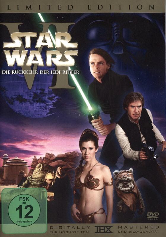 Star Wars - Die Rückkehr d. Jedi-.. [LE] [2DVDs] DVD Bild