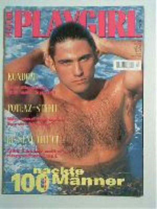 Playgirl 12/1995 Gay Buch / Magazin Bild