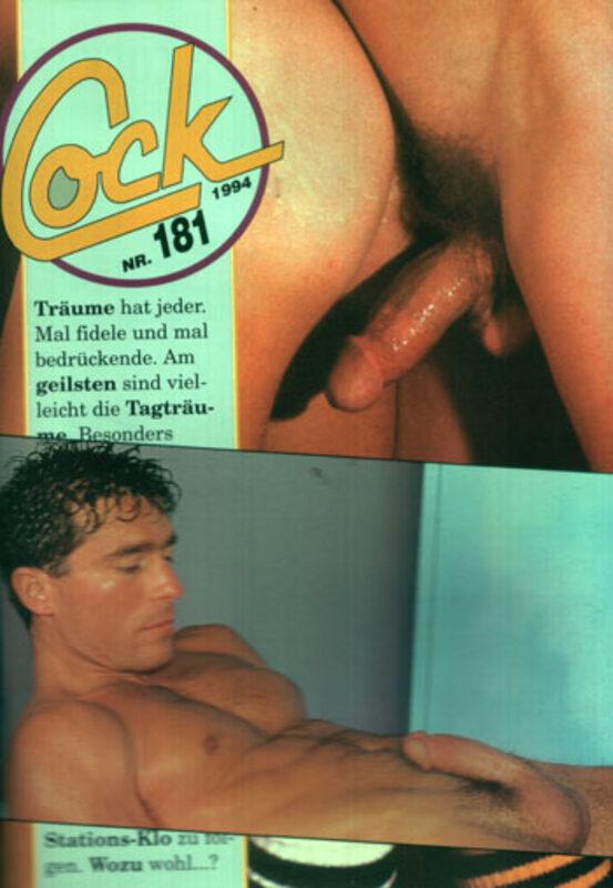 Cock Nr.181 Gay Buch / Magazin Bild