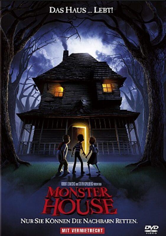 Monster House DVD Bild