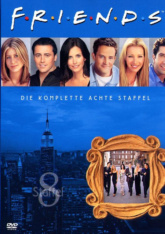 Friends - Box Set / Staffel 8  [4 DVDs] DVD Bild