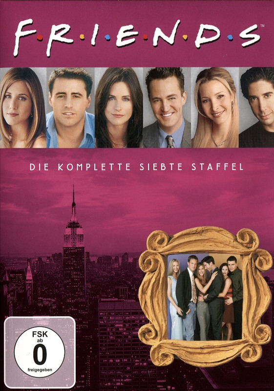 Friends - Box Set / Staffel 7  [4 DVDs] DVD Bild